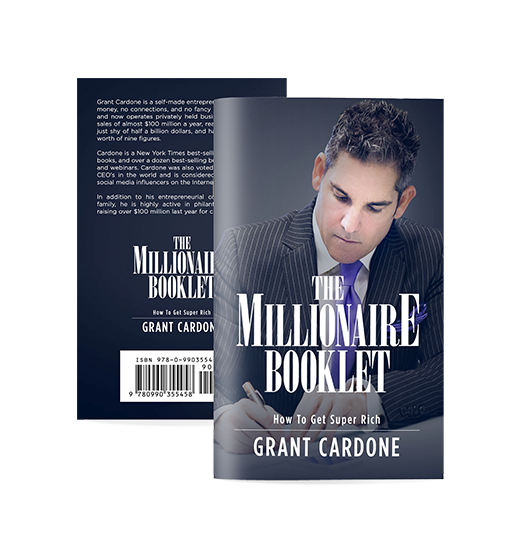 millionaire booklet cover
