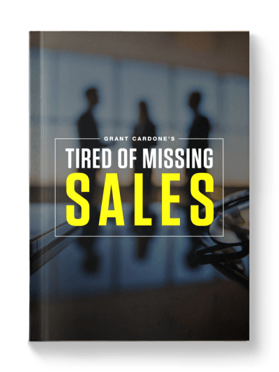tired of missing sales ebook